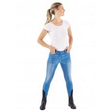 Jeans jahalne hlače s silikoni SHAYA