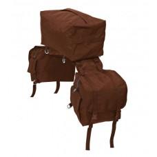 Western zadnja sedelna torba 3 v 1 (srednja in 2 stranski torbi)