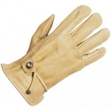 Jahalne rokavice LEDER nepodložene
