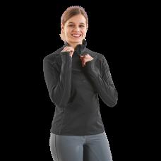 Tehnična majica/puli z dolgimi rokavi MELANI TECH - črna