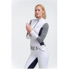 Ženska tekmovalna majica JET SET dolg rokav