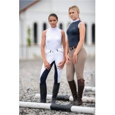 Otroška tekmovalna majica - CRYSTAL KIDS - Sleeveless, Technical Equestrian Apparel