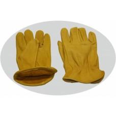 Jahalne delovne rokavice A-Grade Cowhide nepodložene
