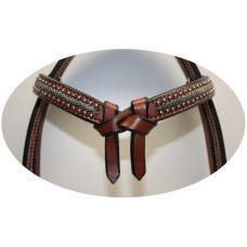 Western uzda DOTS AND LEATHER