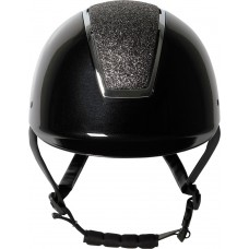 Jahalna čelada REGAL SPARKLE BLACK SILVER
