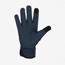 Jahalne rokavice zimske HORZE CRYSTAL TEMNO MODRE