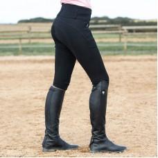 HORZE ženske jahalne hlače s kolenskim usnjem DANIELA