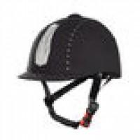 Horze Triton Galaxy Helmet, jahalna čelada BLACK CRYSTAL