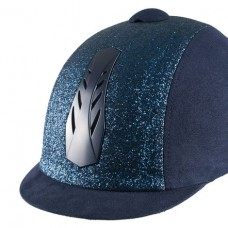 Horze Triton Galaxy Helmet, jahalna čelada BLUE