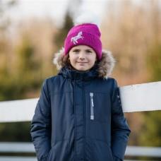 Otroška topla kapa s konjskimi motivi TERRY