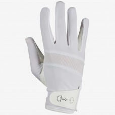 HORZE ženske jahalne rokavice CRYSTAL