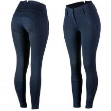 HORZE ženske jahalne hlače s silikoni DANIELA