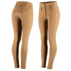 HORZE ženske jahalne hlače TARA - svetlo rjave