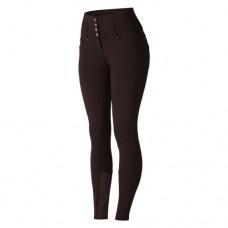 HORZE ženske jahalne hlače TARA - temno rjava