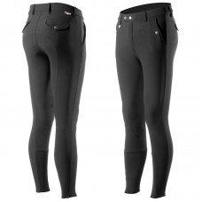 Horze Grand Prix moške jahalne hlače s kolenskimi silikoni