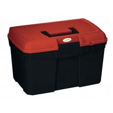 Škatla za krtače SIENA črna/rdeča