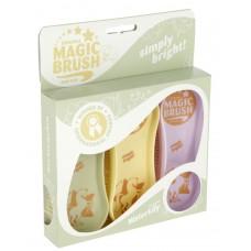 Set 3 krtač MAGIC BRUSH® WATER LILY