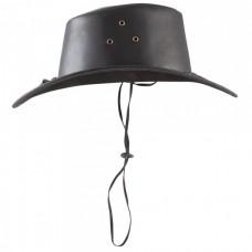 Usnjen klobuk COWBOY