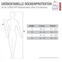 Zaščitni jopič za hrbet za odrasle PFIFF back protector