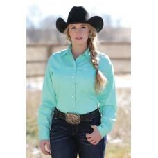 Western srajca CINCH enobarvna ženska