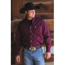 Western srajca CINCH enobarvna