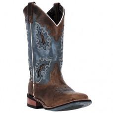 Ženski western škornji Laredo BROWN BLUE