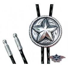 Usnjena kravata STARS 26