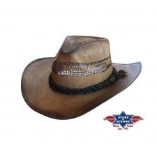 Western klobuk TICO - slamnik