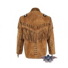 Usnjena jakna s franži BUFFALO