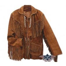 Usnjena jakna s franži CODI