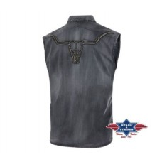 Western srajca ENZO brez rokavov