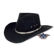 Western klobuk KANSAS BLACK