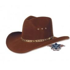 Western klobuk KANSAS BROWN