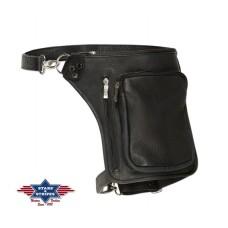 Usnjena torba za na nogo - LEG BAG 3