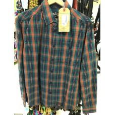 Western srajca WRANGLER ORANGE