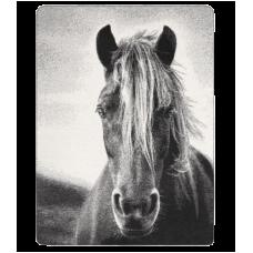 Mehka odeja z motivom konja WALDHAUSEN 150x200cm