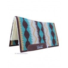 Western podsedelnica Professional's Choice VISION AirRIDE PAD Serpentine Coffe