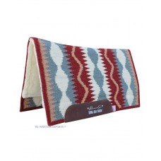 Western podsedelnica Professional's Choice VISION AirRIDE PAD Serpentine Wine