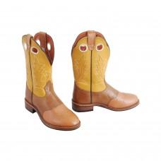Western škornji Pools BROWN DONNA, ženski