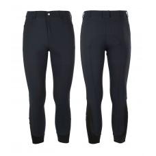 Moške jahalne hlače EQUESTRO CASPAR, kolenski silikon