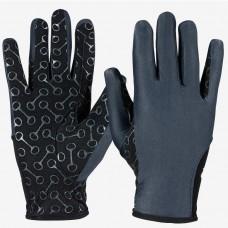 HORZE otroške jahalne rokavice SILICONE