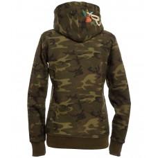 RANCHGIRLS pulover IVY - vojaško zelena