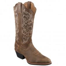 Ženski western škornjiTwisted X NUBUK BROWN