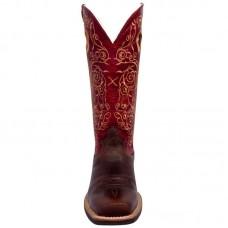 Ženski western škornjiTwisted X RUFF STOCK RED